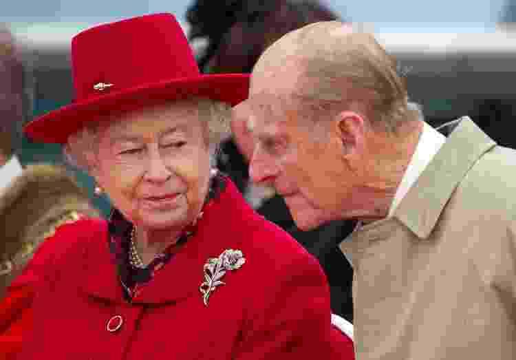 Rainha Elizabeth ao lado do marido, príncipe Philip, em Londres - Paul Hackett - Paul Hackett
