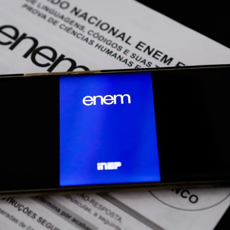 A intenção é que o Enem se torne totalmente digital até 2026 - Andre Melo Andrade/Myphoto Press/Estadão Conteúdo