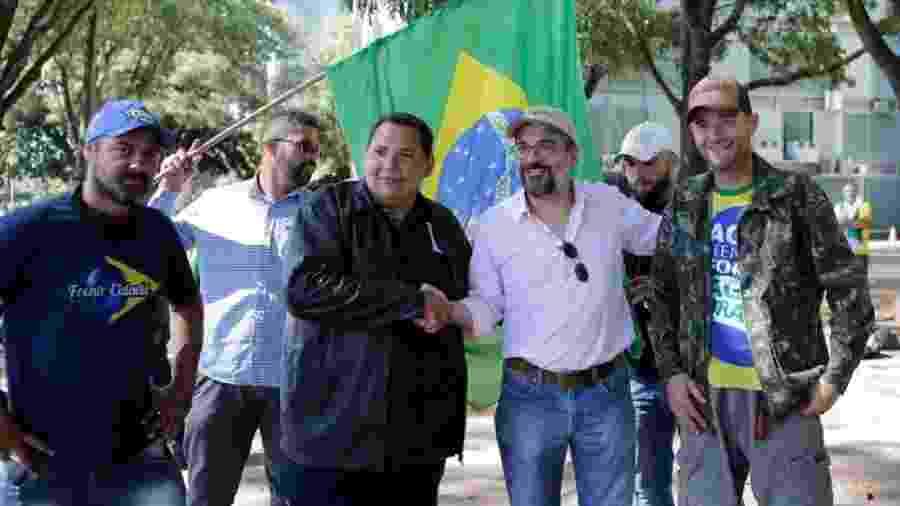 Participação de ministro em manifestação desagradou o governo  - Dida Sampaio/Estadão