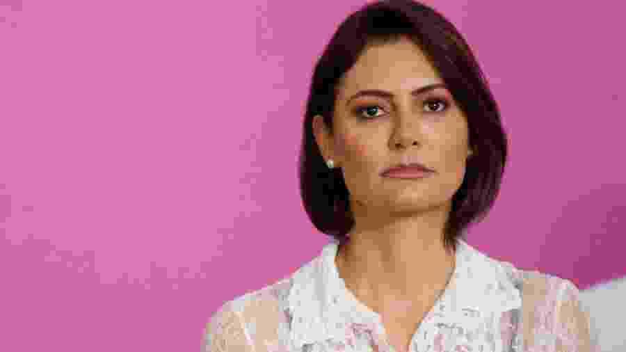 Primeira-dama Michelle Bolsonaro - ADRIANO MACHADO