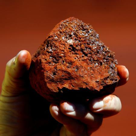 Minério de ferro, principal matéria-prima na indústria do aço, opera ao redor da maior cotação desde fevereiro de 2011 - David Gray