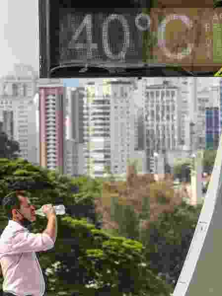 Temperaturas podem bater 40ºC no estado de São Paulo até o sábado (3) - MARCELO D. SANTS/ESTADÃO CONTEÚDO