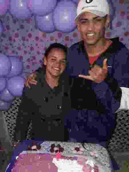 Gislaine Sabino dos Santos e seu filho, Wenny Sabino Costa Martin - Arquivo pessoal - Arquivo pessoal