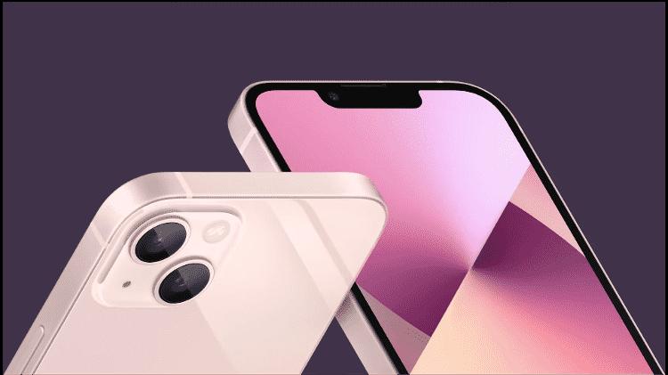 IPhone 13 ganhou conjunto de câmera com novo posicionamento dos sensores - Reprodução - Reprodução