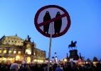 Com a chegada dos refugiados, movimento islamofóbico volta com força na Alemanha - ROBERT MICHAEL/AFP