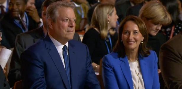 Ambientalista Al Gore participa de sessão final da COP-21 que teve participação ativa dos EUA - Reprodução