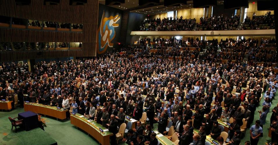 Na ONU, 175 países assinam Acordo de Paris sobre mudanças climáticas