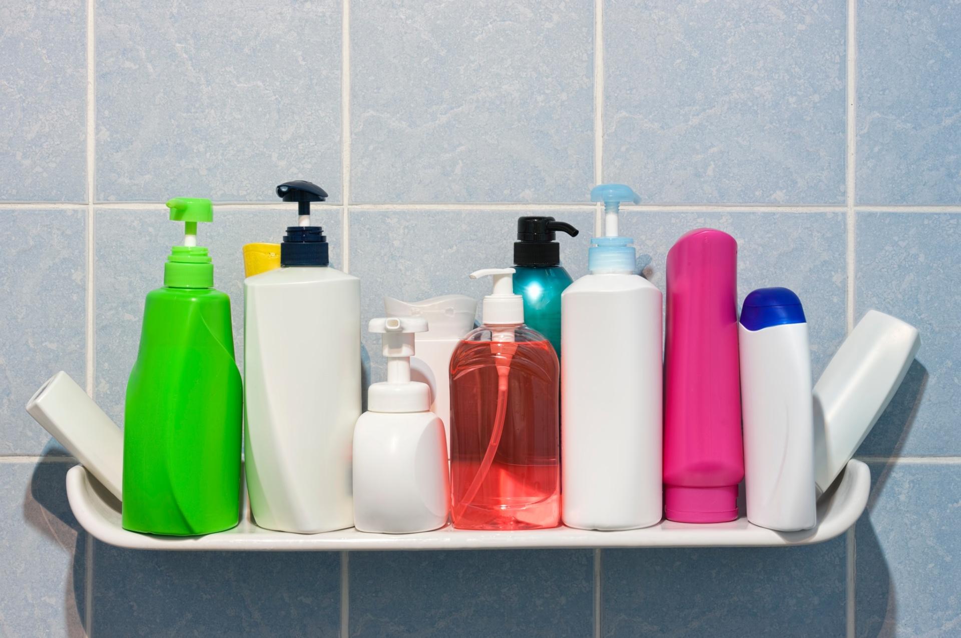 6.mai.2016 - Shampoos, condicionador e sabonete