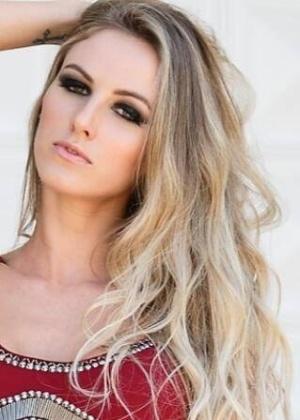 A modelo Aline Furlan, que desapareceu em Piracicaba