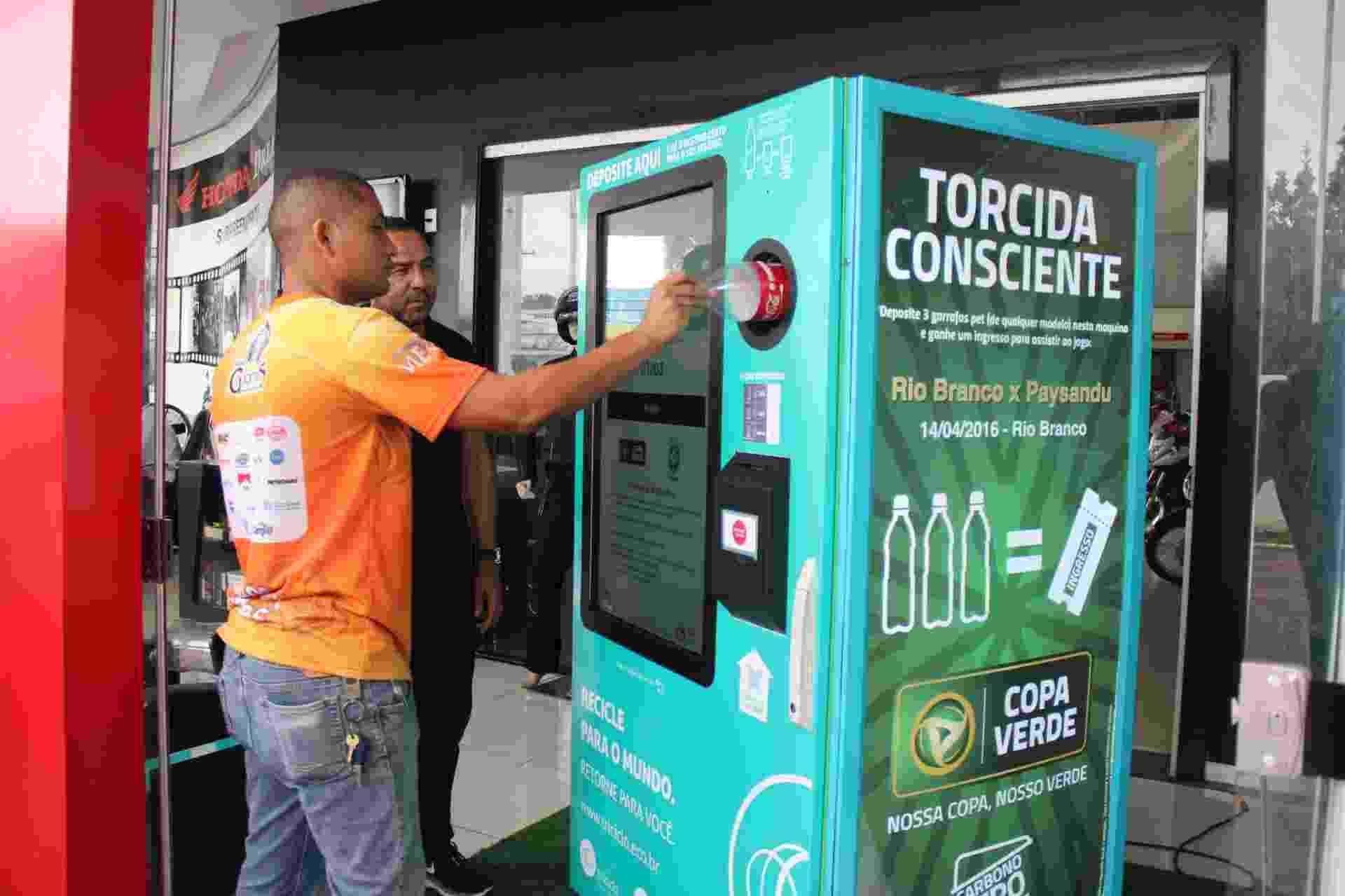 Retorna Machine, da start-up de soluções sustentáveis Triciclo - Divulgação