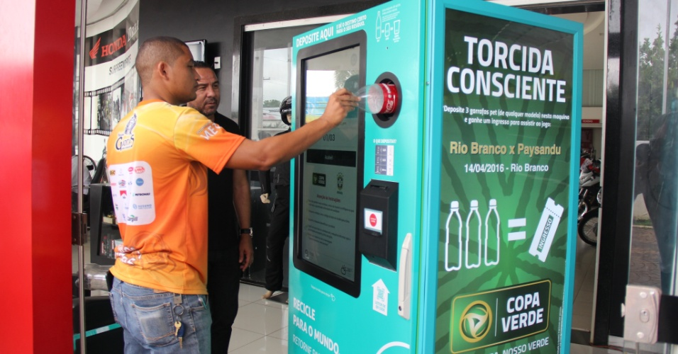 Retorna Machine, da start-up de soluções sustentáveis Triciclo