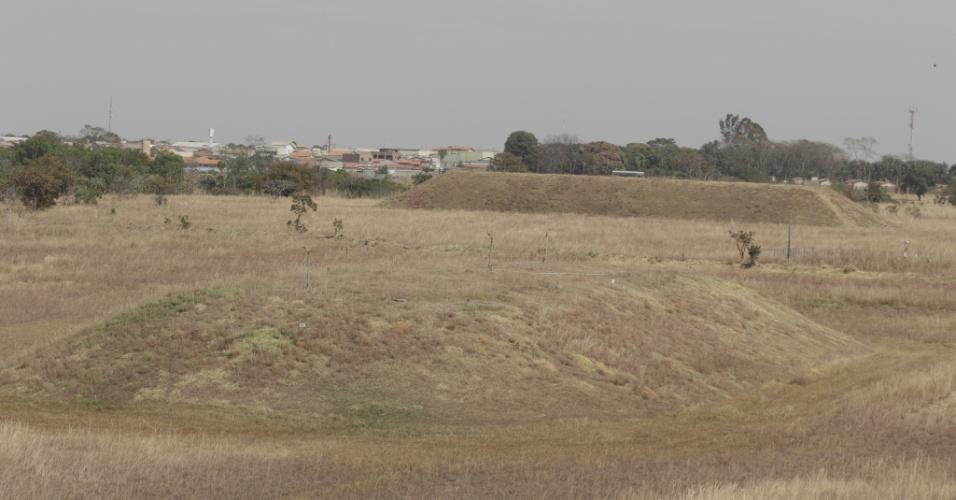 Depósito do lixo radioativo no Parque Estadual Telma Ortegal, em Abadia de Goiás (GO)