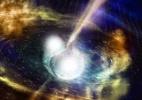 Observação inédita de fusão de estrelas de nêutrons pode explicar origem do ouro na Terra (Foto: LIGO)