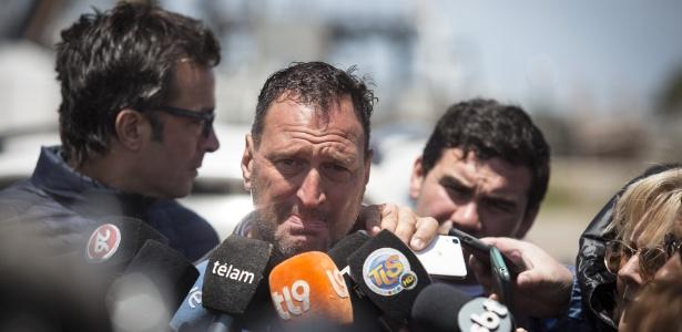 Luis Tagliapietra pai do tenente Alejandro Damián Tagliapietra