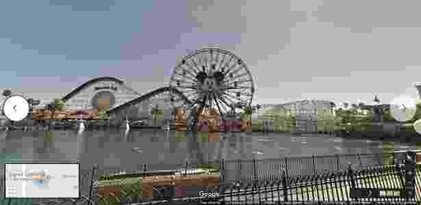 Disney California Adventure Park - Google Maps Street View - Reprodução - Reprodução
