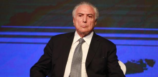 2.abr.2018 - Presidente Michel Temer (MDB) participa do Fórum Econômico Brasil-Países Árabes em São Paulo