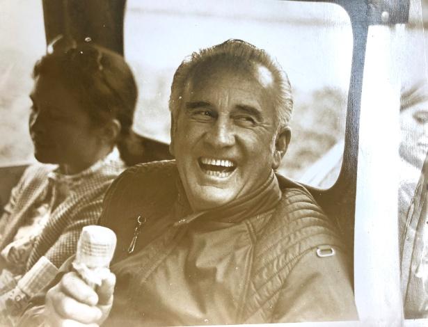 O técnico de equitação Jimmy A. Williams, que morreu em 1993, em foto de arquivo