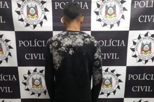 Suspeito de assassinato, Douglas Gluszszak foi preso