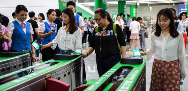 Metrô em Pequim vai adotar reconhecimento facial, levantando debate sobre privacidade - Xinhua/Mao Siqian