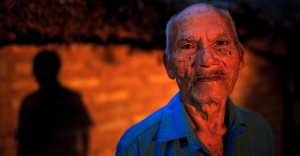 Francisco Dias Barbosa, 80. Conhecido como Chico Carro, é da família com mais antigos registros de ocupação da região, por volta de 1922. Descendente dos índios canelas, ele conta que sua família se espalhava por uma distância de mais de 10 km