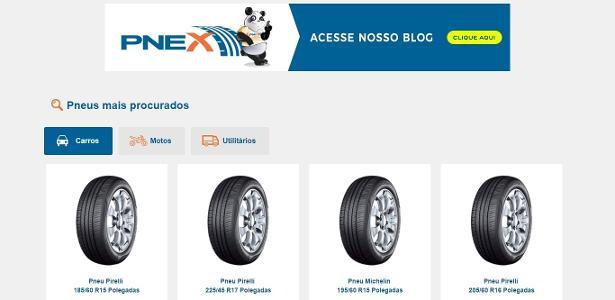 Pnex facilita a busca por pneus e serviços automotivos