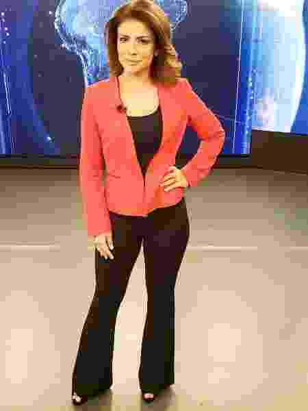 """Analice Nicolau foi uma das apresentadoras do """"SBT Notícias"""" - Reprodução/Instagram"""