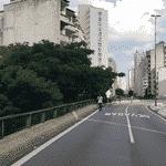 O prefeito de São Paulo, Bruno Covas (PSDB), anunciou que o Elevado João Goulart, o Minhocão será desativado e transformado em um parque. Imagens da prefeitura mostram o projeto de revitalização do viaduto - Prefeitura de São Paulo