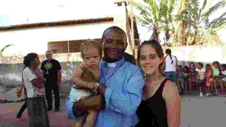 O padre José Vicente dos Santos, da Diocese do Crato (CE), que está em missão na fronteira com a Venezuela - Aliança da Misericórdia