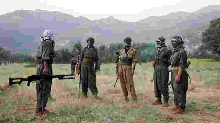 Mais de 40 mil pessoas foram mortas desde que o PKK iniciou luta armada em 1984 - AFP