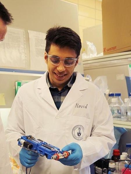 Cientistas criam dispositivo que imprime pele artificial - Universidade de Toronto