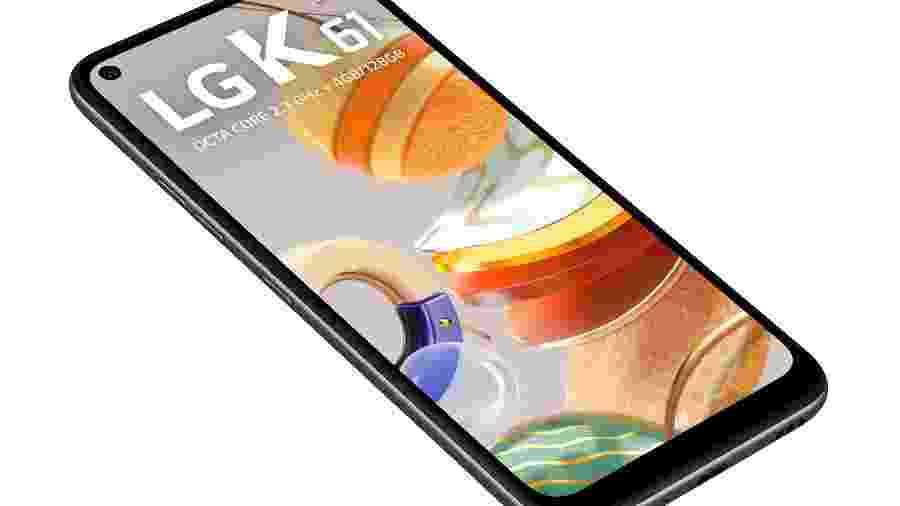 K61, novo smartphone da LG com quatro câmeras - Divulgação/LG