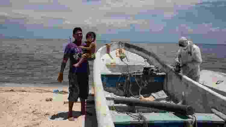 A pesca ficou muito limitada depois que a Pemex assumiu o controle da região em Ciudad del Carmen - GETTY IMAGES - GETTY IMAGES