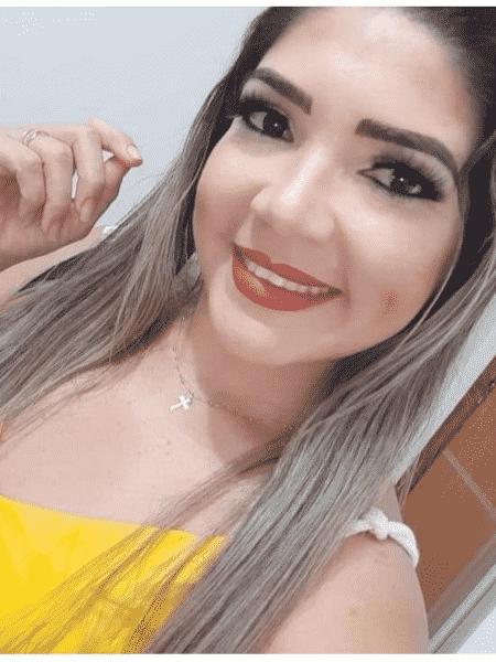 A estudante Mayara Santos - Arquivo Pessoal