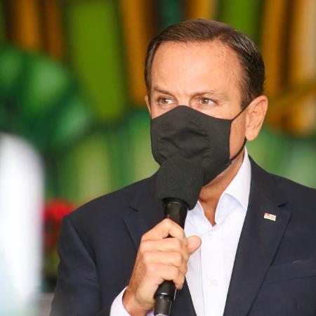 João Doria, governador de São Paulo, ordenou que os quilombolas voltem a ter prioridade no plano de vacinação - Divulgação/Governo do Estado de São Paulo