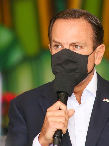 O governador de São Paulo, João Doria: não, ele não desistiu - Divulgação/Governo do Estado de São Paulo