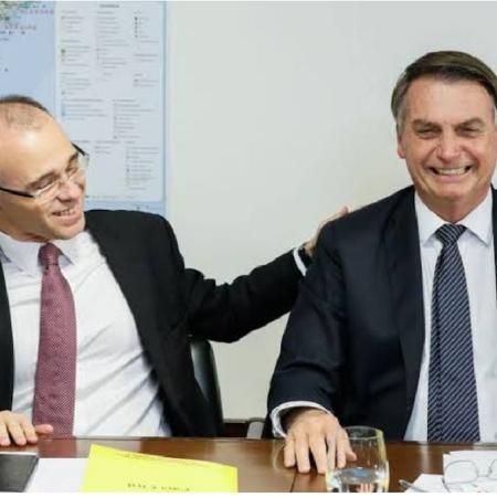 André Mendonça e Bolsonaro - Reprodução