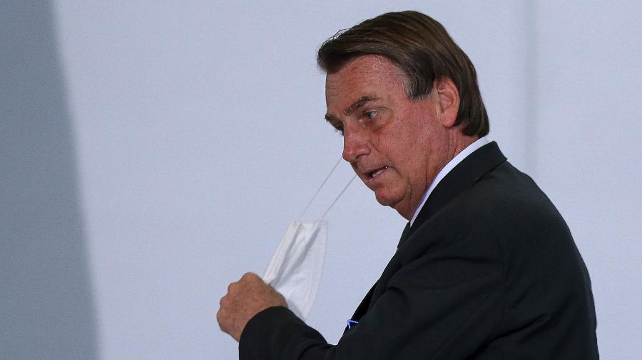 O presidente Jair Bolsonaro (sem partido), que disse que vai vetar o fundo eleitoral recém-aprovado - Pedro Ladeira/Folhapress
