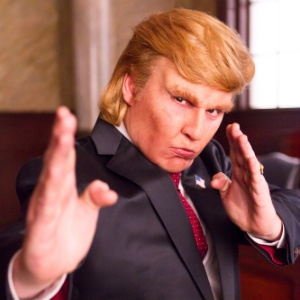 Johnny Depp transforma-se em Donald Trump