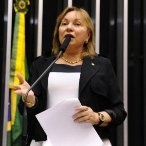 Deputada Gorete Pereira (PR-CE)  durante sessão na Câmara - Luis Macedo / Câmara dos Deputados