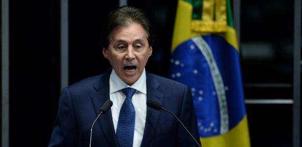 Fachin autoriza abertura de inquérito contra presidente do Senado - Andressa Anholete/AFP