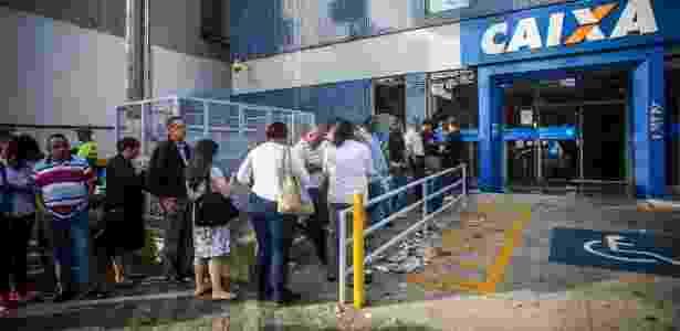 Agência da Caixa Econômica Federal - Edson Lopes Jr./UOL