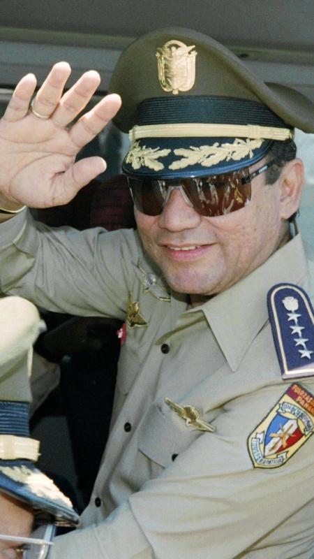 Morre aos 83 anos Manuel Antonio Noriega, ex-ditador do Panamá - Manoocher Deghati - 31.ago.1989/AFP