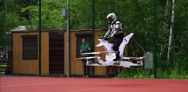 Chamado Scorpion, veículo foi inspirado em um drone e pode atingir a velocidade de 70 km/h