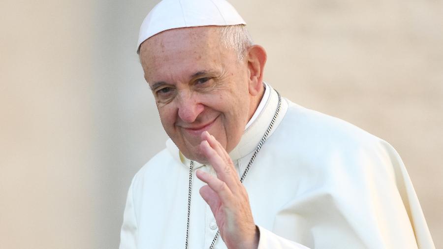 A mensagem do pontífice está sendo interpretada como uma demonstração de apoio indireto à Argentina. - Alberto Pizzoli/AFP