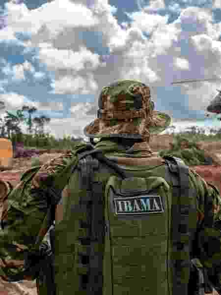 Fiscais do Ibama no combate ao desmatamento e garimpo  - Ibama