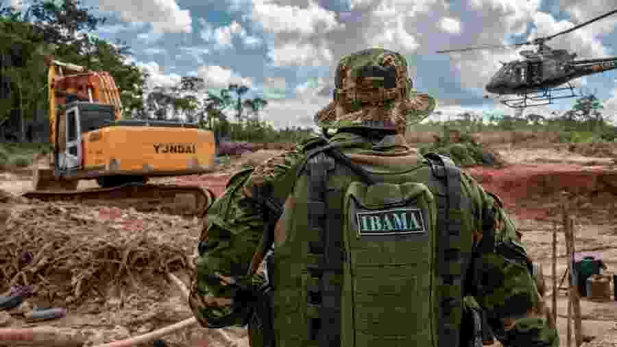 Grupo Especializado de Fiscalização (GEF) do Ibama combate desmatamento e garimpo de cassiterita na Terra Indígena Tenharim do Igarapé Preto, no Amazonas - Ibama