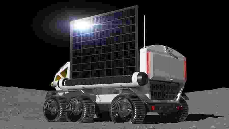Ilustração do rover lunar da Toyota - Divulgação