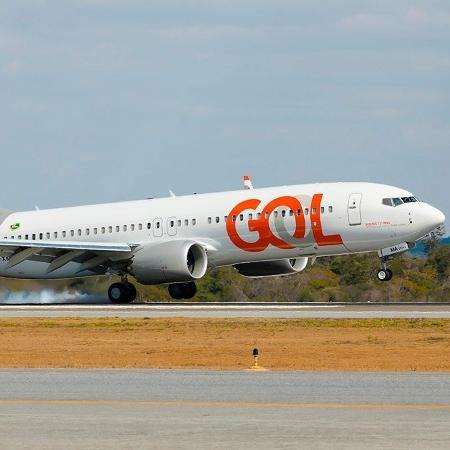 Aeronave 737 MAX que pertence a frota da Gol - Divulgação