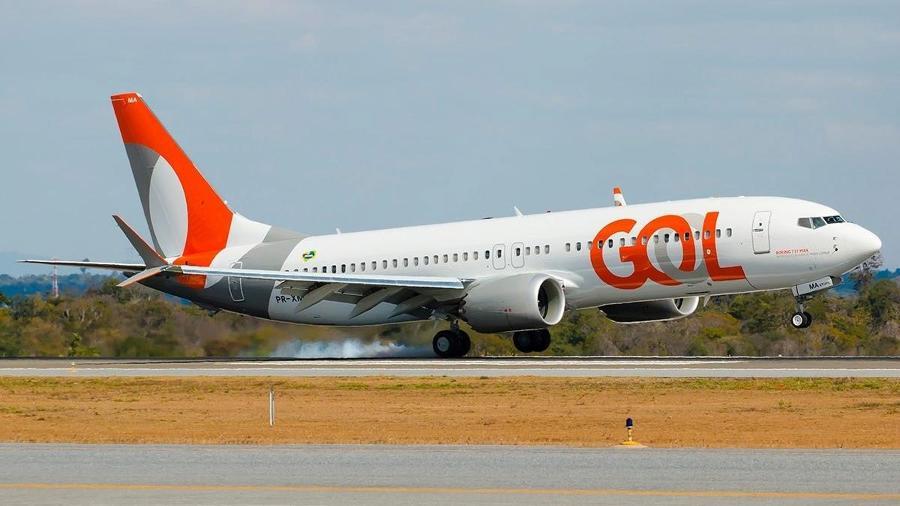 Aeronave 737 MAX da Gol - Divulgação