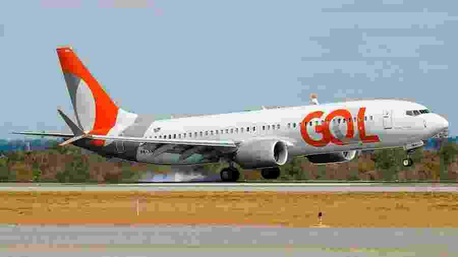Aeronave da Gol - Divulgação